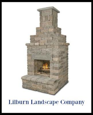 backyard fireplace for patios