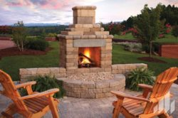 Outdoor Fireplaces Installed