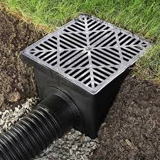 french drain for backyard