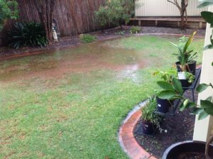 Lilburn landscape full service landscape maintenance for for Backyard flooding solutions